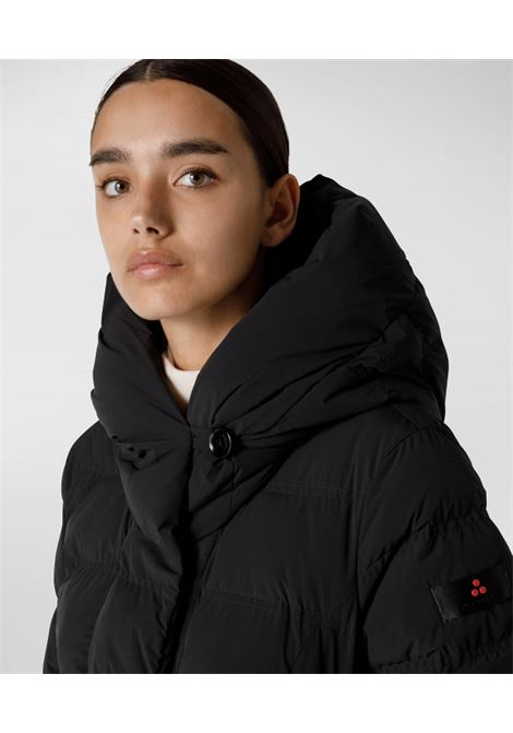 Long and elegant down jacket in bi-stretch canvas PEUTEREY |  | PED4011NER