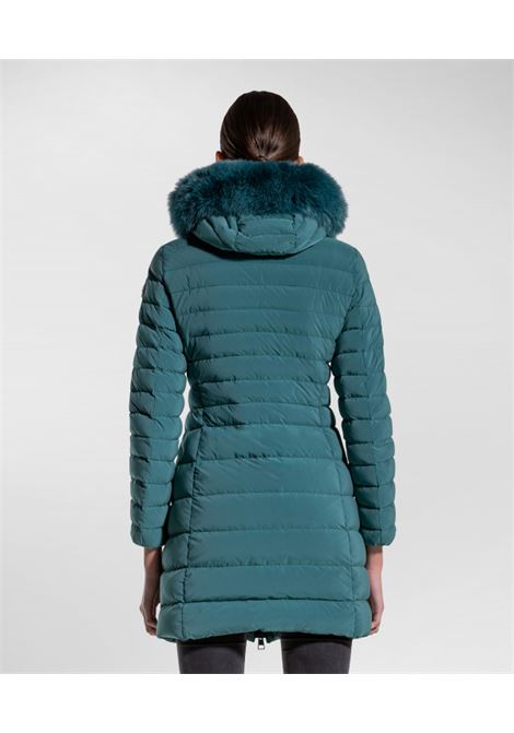 Slim down jacket with fur PEUTEREY |  | PED4016626