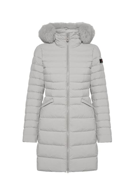 Slim down jacket with fur PEUTEREY |  | PED4016BIA