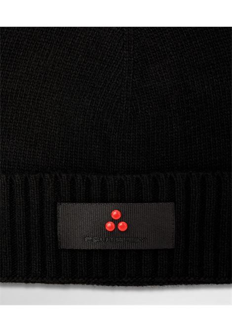 Wool blend tricot hat PEUTEREY | Hats | PED4086NER