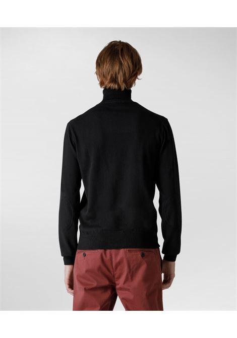 Maglia collo alto in cotone e lana PEUTEREY | Maglieria | PEU3639NER