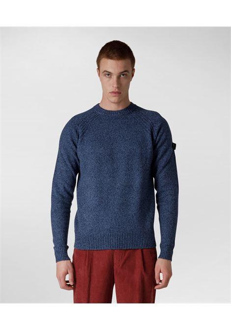 Maglia girocollo in misto cotone e lana PEUTEREY | Maglieria | PEU4102288