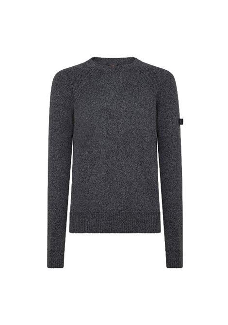 Maglia girocollo in misto cotone e lana PEUTEREY | Maglieria | PEU4102799