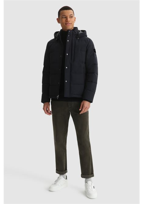 Sierra Green jacket in organic cotton and recycled nylon WOOLRICH |  | CFWOOU0481MRUT23483989