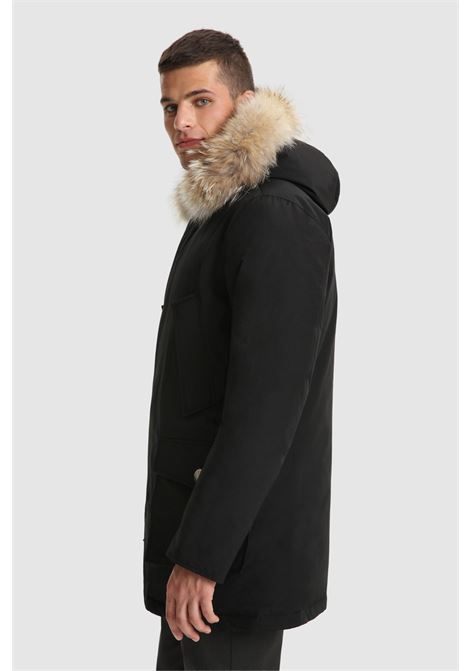 Arctic Parka with removable fur WOOLRICH | Overcoat | CFWOOU0482MRUT0001BLK