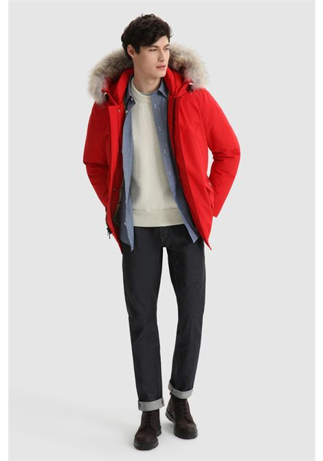Arctic Anorak with removable fur WOOLRICH | Overcoat | CFWOOU0484MRUT0001MSC