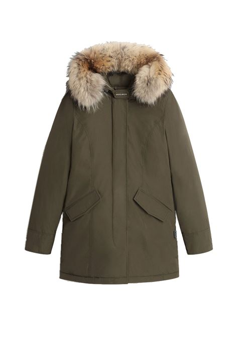 Luxe Arctic Parka with removable raccoon fur WOOLRICH | Overcoat | CFWWOU0541FRUT0573614