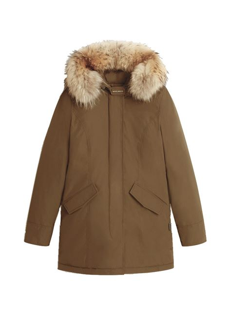 Luxe Arctic Parka with removable raccoon fur WOOLRICH | Overcoat | CFWWOU0541FRUT05737270