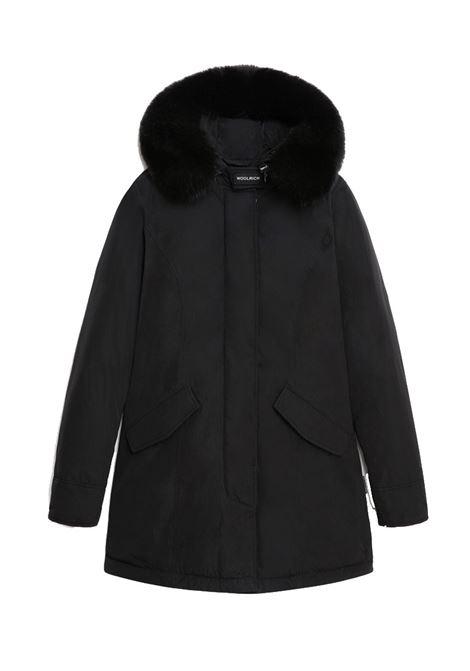 Arctic Parka luxe con pelliccia di volpe removibile WOOLRICH | Cappotti | CFWWOU0542FRUT0573100