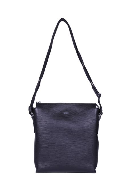 ADJUSTABLE LEATHER SHOULDER BAG BOSS | Bags | 50379844001