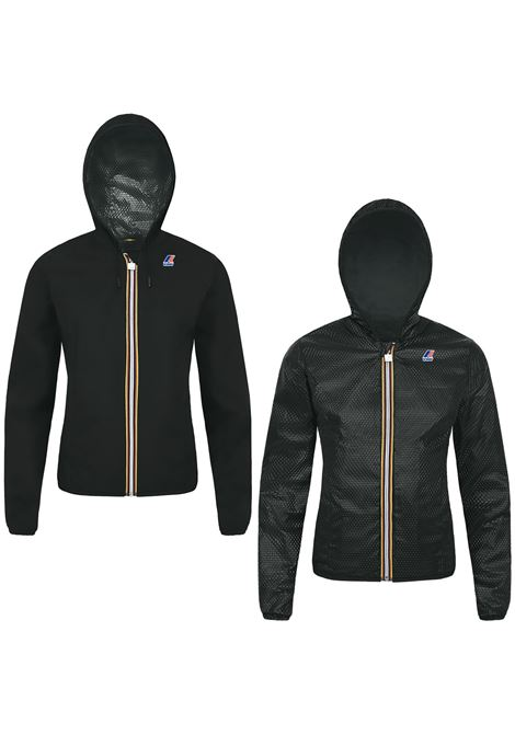 Giubbotto impermeabilemodello Lily plus double embossed. K-WAY K-WAY | Giubbini | K007RN0K02