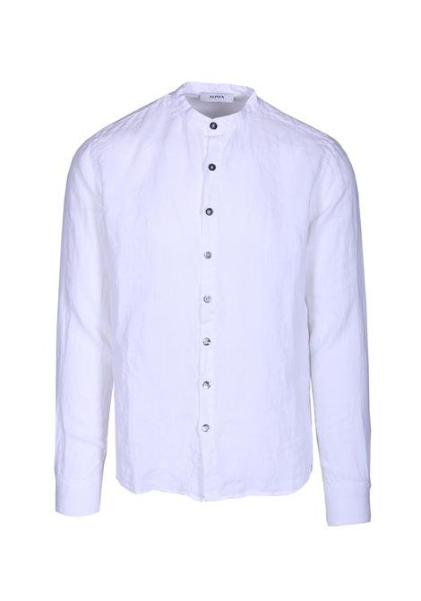 Camicia alla coreana manica lunga. ALPHA STUDIO | Camicie | AU 9511/L6110
