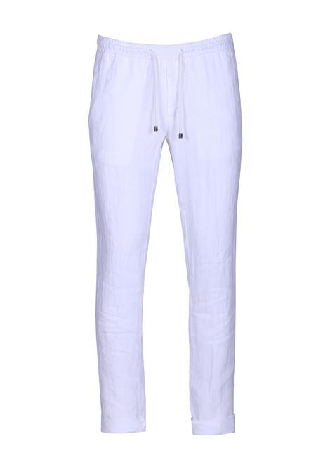 Pantalone con laccio in vita. ALPHA STUDIO | Pantaloni | AU 9513/Q6110