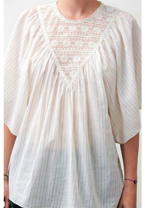 Gelly white top. Antik Batik ANTIK BATIK |  | GELLY1TEECREAM