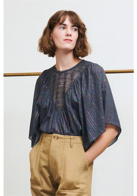 Gelly slate grey top. Antik Batik ANTIK BATIK   Sweaters   GELLY1TEEFD BLACK