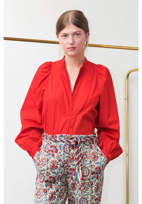 Laka Red Shirt. ANTIK BATIK | Camicie | LAKA1SHTRED