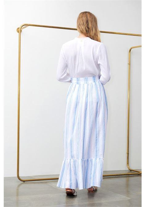 Serifos blue skirt. Antik Batik ANTIK BATIK |  | SERIFOS1SKIBLUE