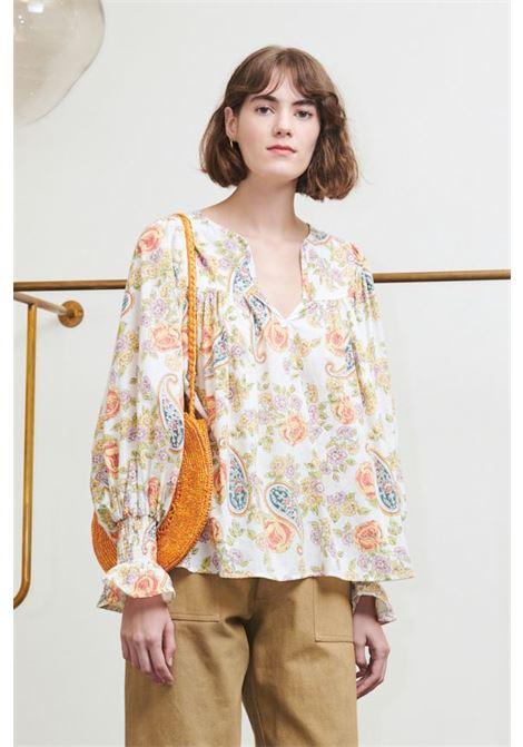 Vika blusa multicolor. ANTIK BATIK ANTIK BATIK | Bluse | VIKA1BLOMULTICO