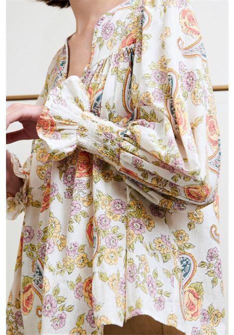 Vika blusa multicolor. ANTIK BATIK | Bluse | VIKA1BLOMULTICO