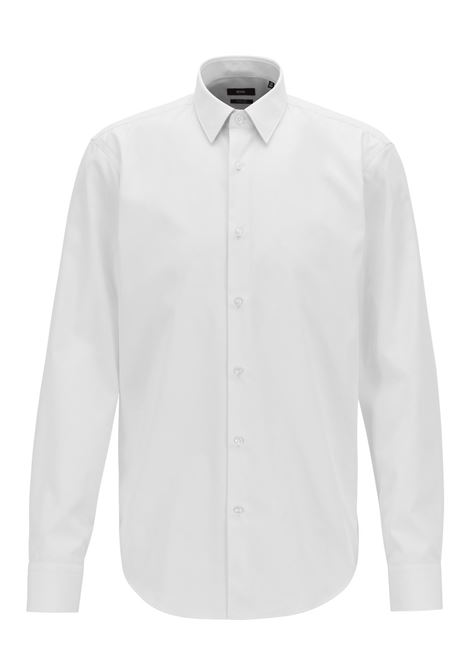 Regular-fit shirt in easy-iron cotton poplin BOSS | Shirts | 50404044100