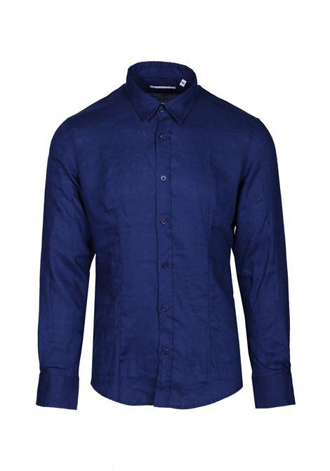 Camicia senza bottoni DANIELE ALESSANDRINI | Camicie | C6534R1239BO390023