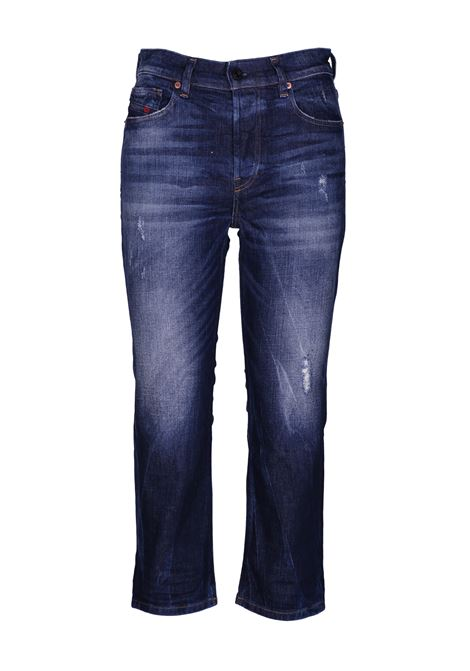 caba3067 Straight jeans with regular waist. DIESEL