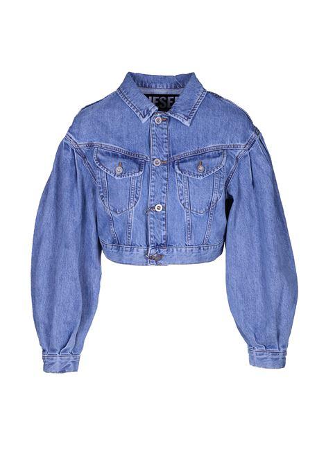 De-puffy denim jacket. DIESEL DIESEL | Jackets | 00SR6M 0NAWE01