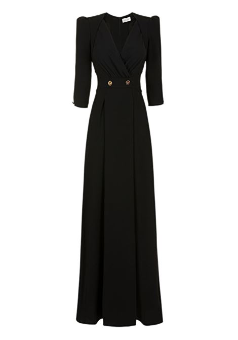 Long dress with buttons ELISABETTA FRANCHI | Dresses | AB72291E2110