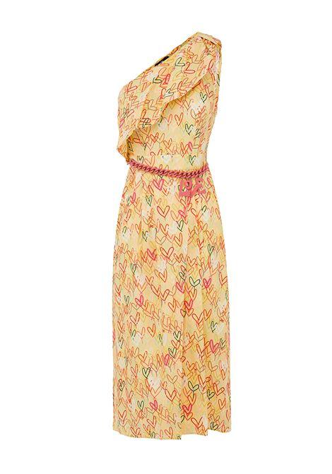 Heart printed dress.Elisabetta Franchi ELISABETTA FRANCHI | Dresses | AB78192E2T79