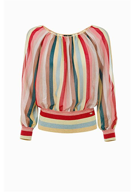 Striped Blouse ELISABETTA FRANCHI | Sweaters | MK35T92E2111