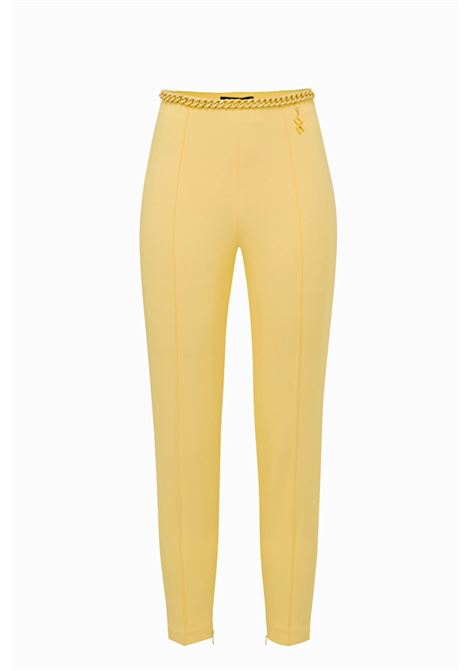 Skinny Trousers with chain ELISABETTA FRANCHI | Trousers | PA27692E2T79