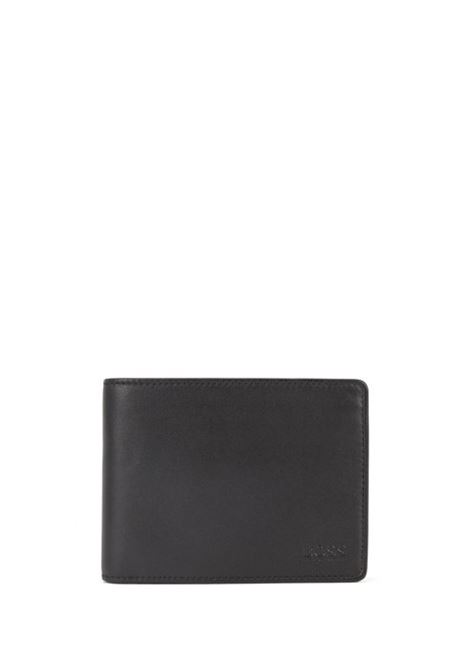 Tri-fold wallet in smooth leather. HUGO BOSS | Wallets | 50250280001