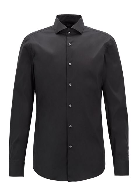 Camicia slim fit in popeline elasticizzato. BOSS | Camicie | 50260064001