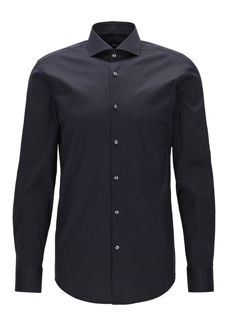 Camicia slim fit in popeline elasticizzato. BOSS | Camicie | 50260064410