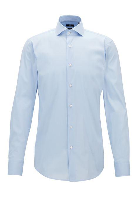 Slim-fit shirt in stretch poplin. HUGO BOSS HUGO BOSS | Shirts | 50260064450