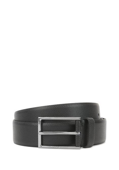 Cintura in pelle con dettagli goffrati. BOSS | Cinture | 50262032001