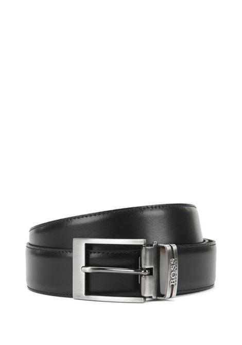 Cintura reversibile in pelle con fibbia doppia HUGO BOSS | Cinture | 50286255002