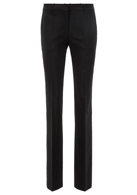 Pantaloni business straight cut in lana elasticizzata. HUGO BOSS | Pantaloni | 50291873001
