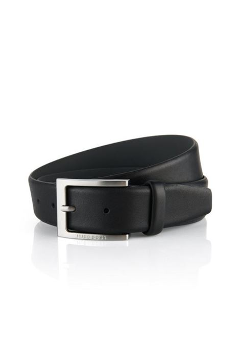 Cintura in pelle lavorata.  BOSS | Cinture | 50292248002