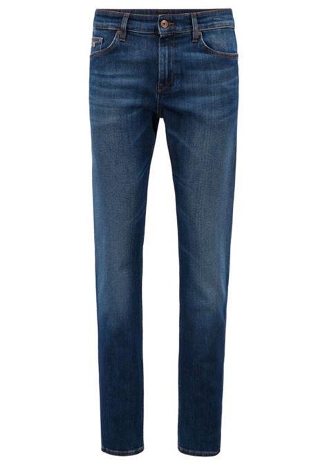 Jeans slim fit in denim elasticizzato BOSS | Jeans | 50302742421