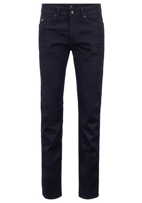 Jeans slim fit in pregiato denim italiano HUGO BOSS | Jeans | 50302744410