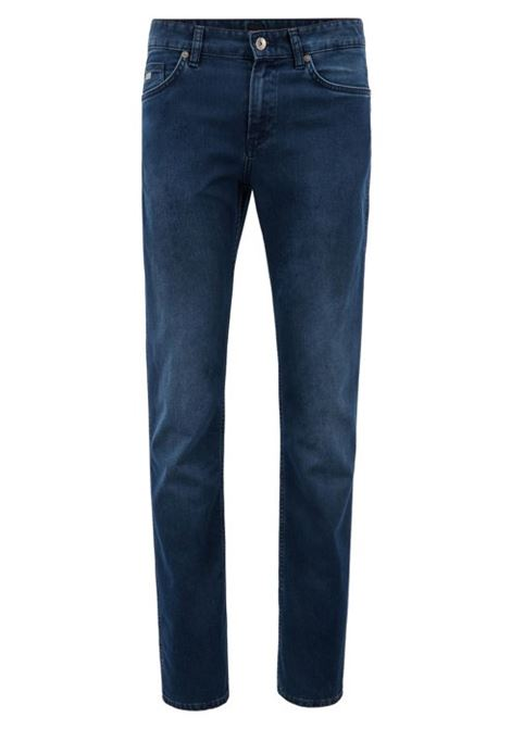 Jeans slim fit in denim elasticizzato HUGO BOSS | Jeans | 50302745420