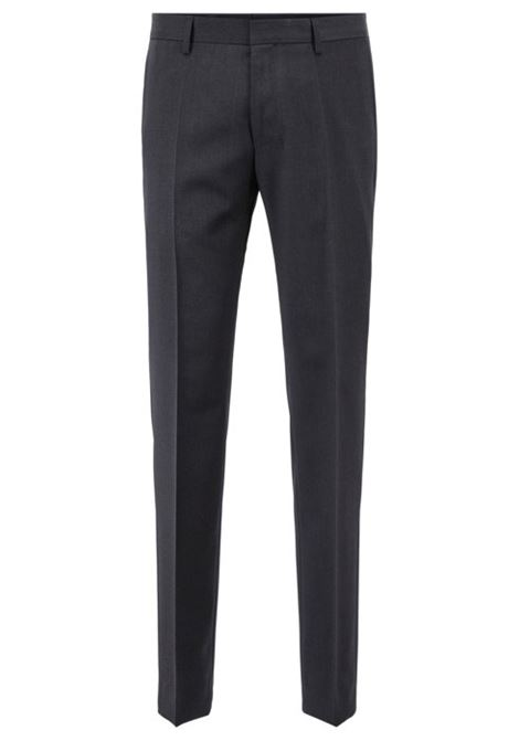 Pantaloni slim fit in pura lana vergine. BOSS | Pantaloni | 50318499021
