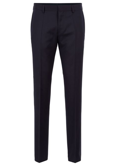 Pantaloni slim fit in pura lana vergine HUGO BOSS | Pantaloni | 50318499C401