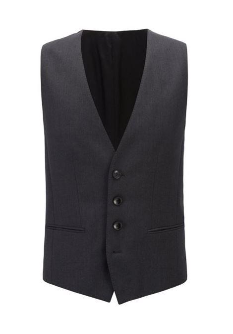 Slim-fit waistcoat in virgin wool.HUGO BOSS HUGO BOSS | Vests | 50318500021