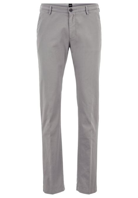 Chino slim fit cotone elasticizzato. HUGGO BOSS HUGO BOSS | Pantaloni | 50325936069