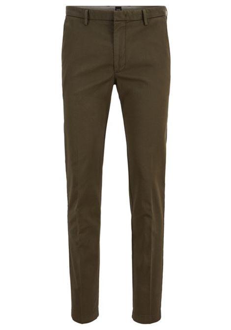 Chino slim fit cotone elasticizzato. HUGO BOSS HUGO BOSS | Pantaloni | 50325948306