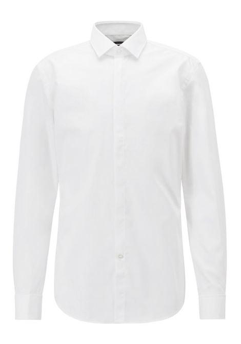 Camicia business slim fit in cotone doppio polsino.  BOSS | Camicie | 50328296100