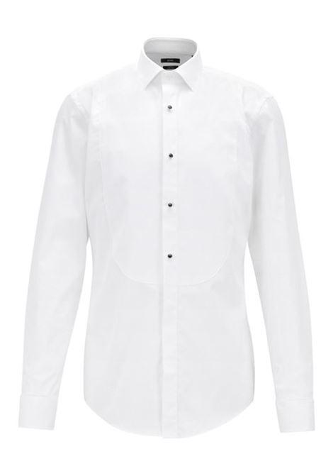 Camicia formale slim fit in puro cotone. BOSS | Camicie | 50373393100