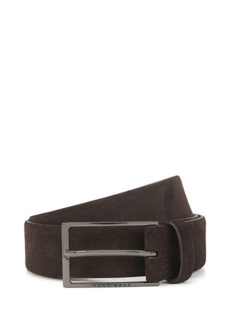 Cintura in pelle scamosciata. HUGO BOSS | Cinture | 50375225202